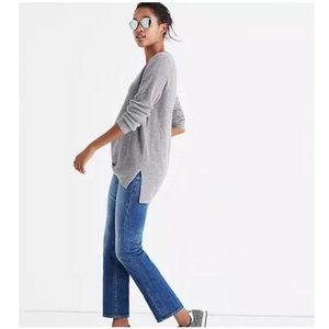 Madewell Wool Alpaca Wafflestitch Sweater Sz S